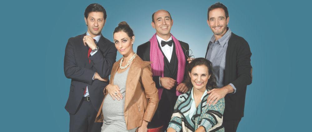 """""""Le Prenom"""" se presenta en Teatro Mori Parque Arauco"""