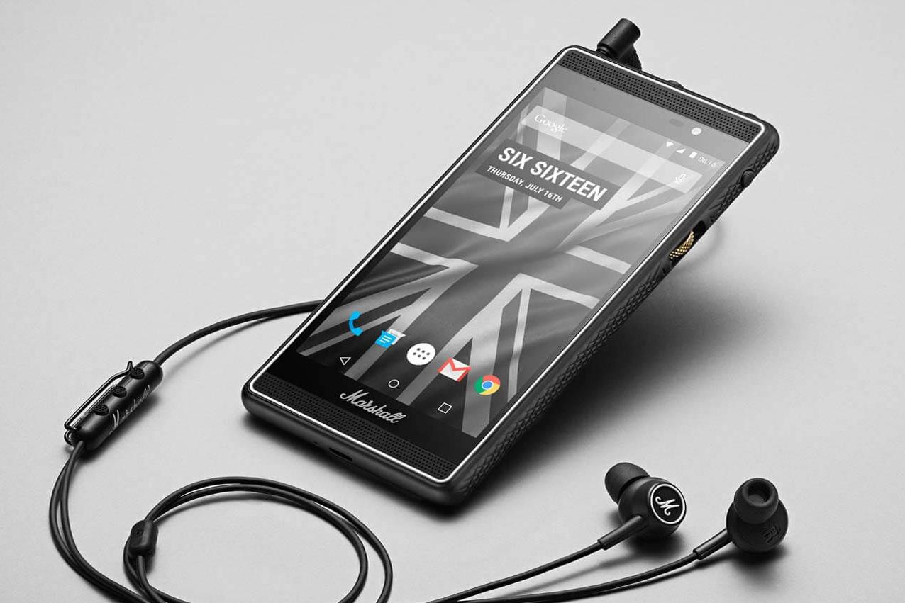 Marshall lanzará en septiembre exclusivo Smartphone