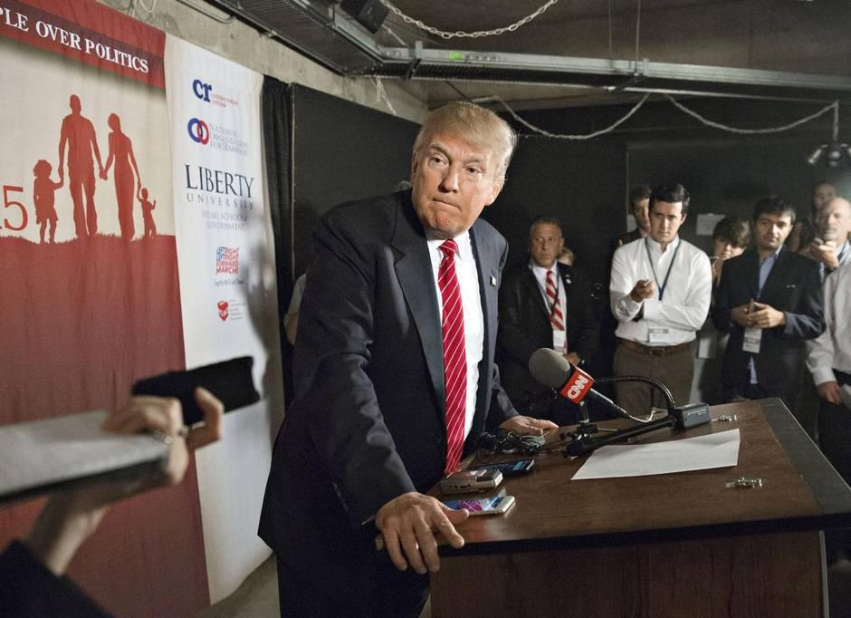 Un dolor de cabeza  llamado Donald Trump