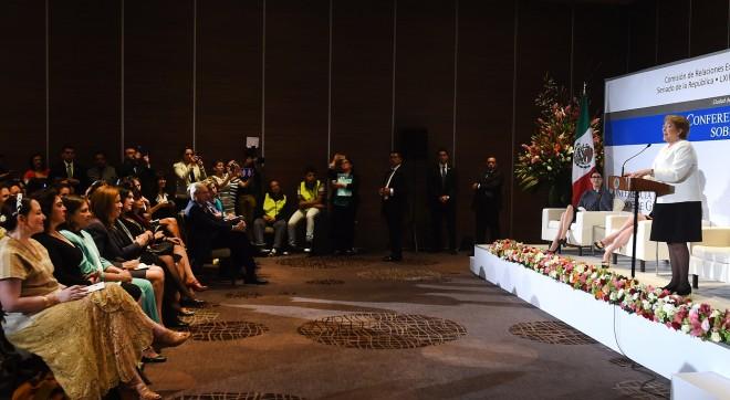 """Presidenta Bachelet: """"El desarrollo equitativo e inclusivo que anhelamos para nuestros países sólo se logra con igualdad de género"""""""