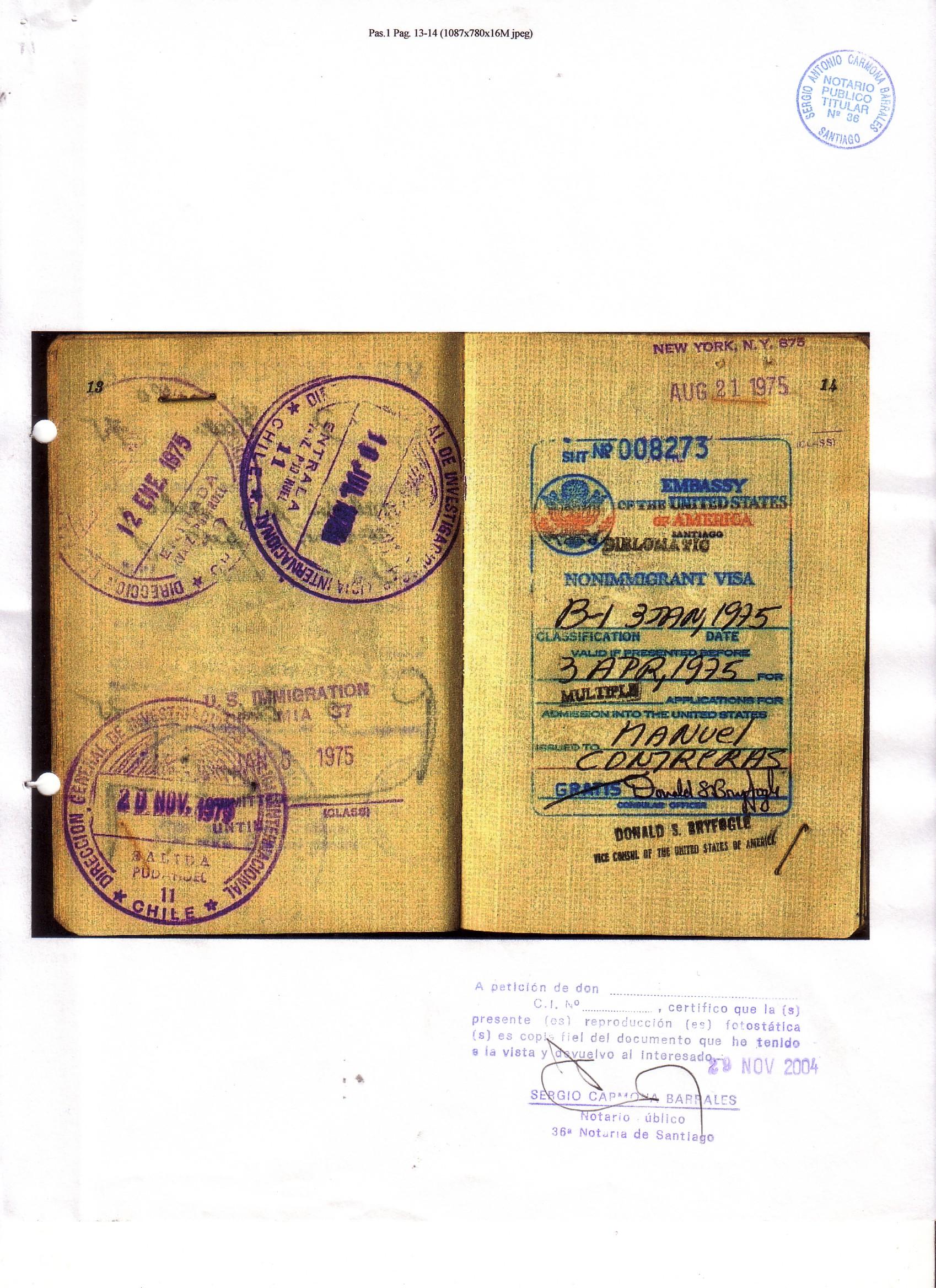 Pasaporte 3