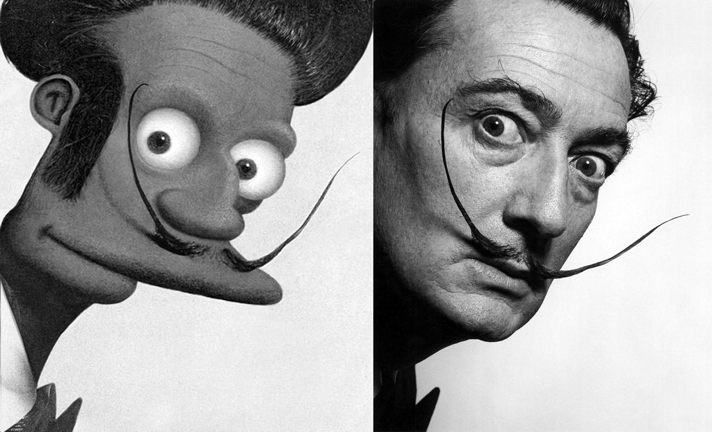 Personajes pop en el arte