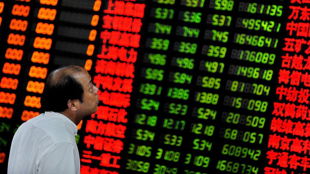 Bolsa de China cae 8,4%  y cobre baja a US$ 2,24