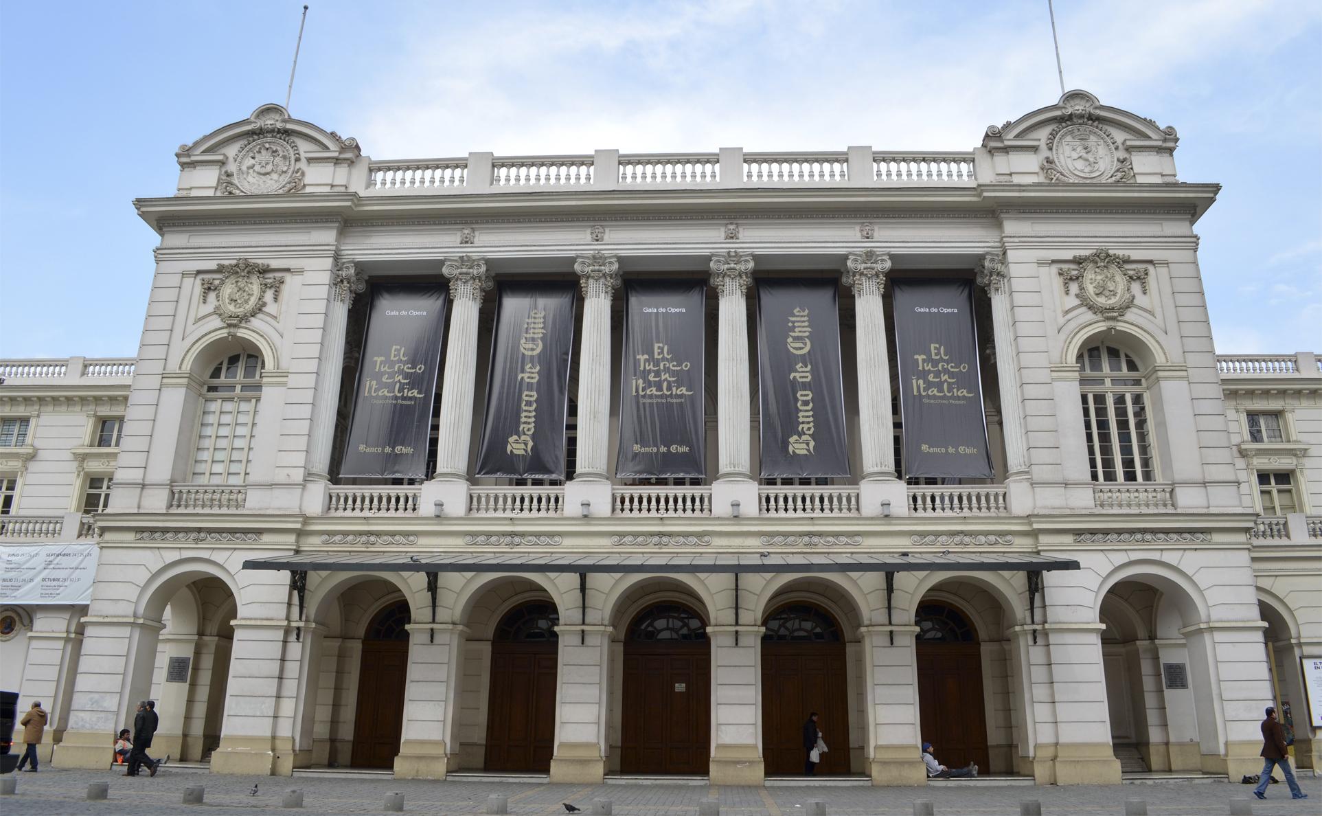 Descubre el Teatro Municipal de Santiago en el día del patrimonio