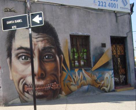 Graffiti que es muy distinto a un simple rayado.