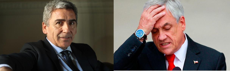 "Carlos Peña avala querella de diputado PC contra Piñera: ""La denuncia de este último (Gutiérrez) no era calumniosa"""