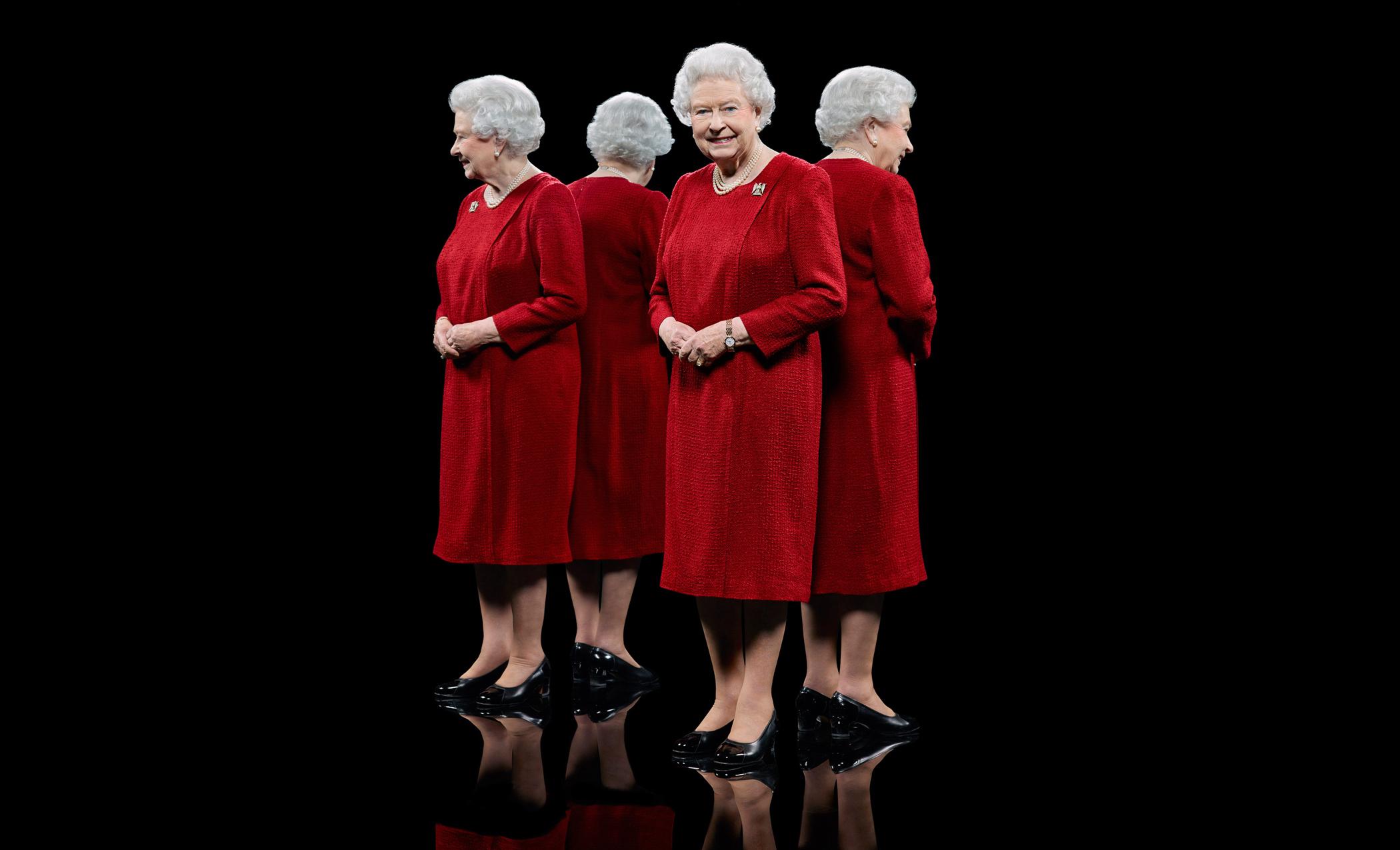Nuevo retrato de la Reina Isabel II será exhibido en Londres.