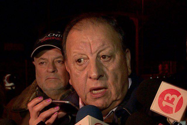 """Sergio Pérez: Líder camionero que dice ser """"apolítico"""" pero sueña con ser como León Vilarín en octubre de 1972"""