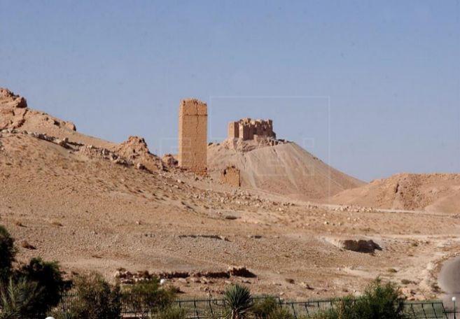 Estado Islámico dinamita templo de Baal, en Palmira