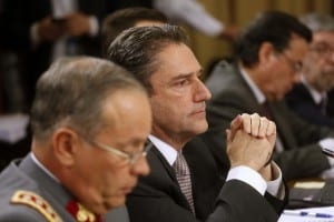 Ministro de Defensa, José   Antonio Gómez explicó rol de ex juez Solís.