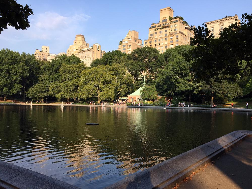 Recorriendo Central Park a pie