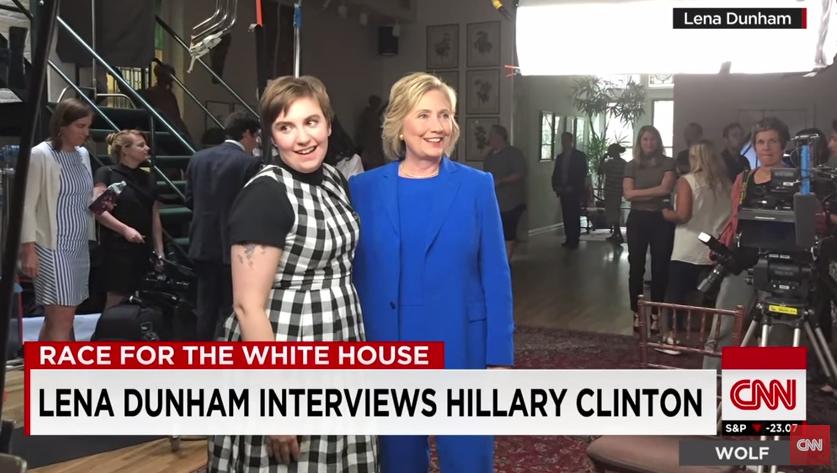 Hillary Clinton dice ser feminista en entrevista con Lena Dunham