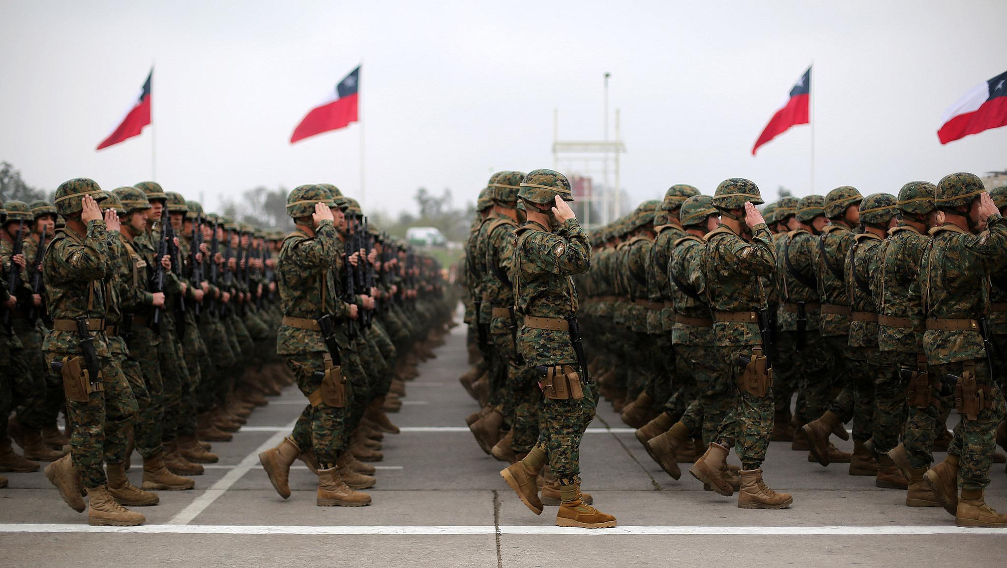 Chile entre las FF.AA. más potentes de América Latina