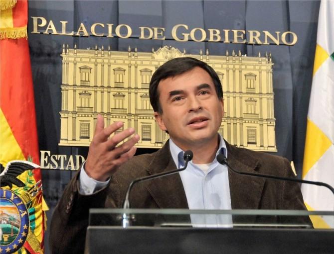 Ministro Juan Ramón Quintana, dio a conocer hoy que Bolivia esperará con feriado el fallo.