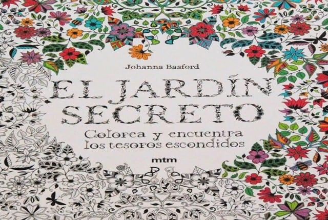 Llega a chile el bestseller internacional jard n secreto for El jardin secreto johanna basford