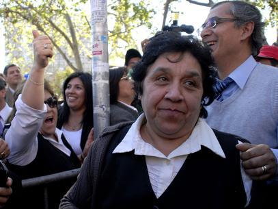 Nelly Díaz, la presidenta de los funcionarios del Registro Civil que no se cansa de pedir beneficios.