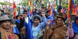 En la Paz se concentraron las celebraciones por el pronunciamiento de la CIJ