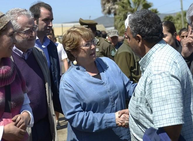 Presidenta Bachelet recorrió Coquimbo y este 18 asistirá al Te Deum por la Independencia Nacional