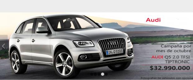 El Audi Q5 Diésel es uno de los vehículos que NO podrán ser comercializados mientras no se regularice la certificación.