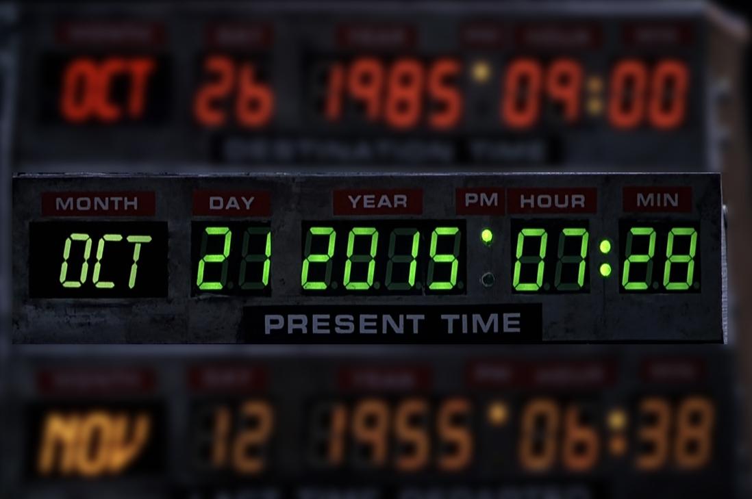 """Y llegamos a la fecha de """"Volver al Futuro 2"""""""