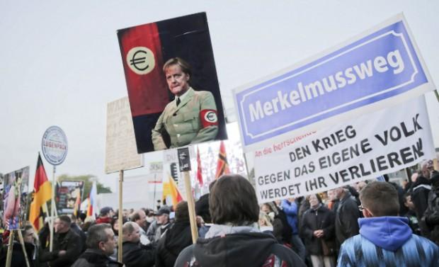 Dresde es el epicentro de las protestas contra la llegada de refugiados.