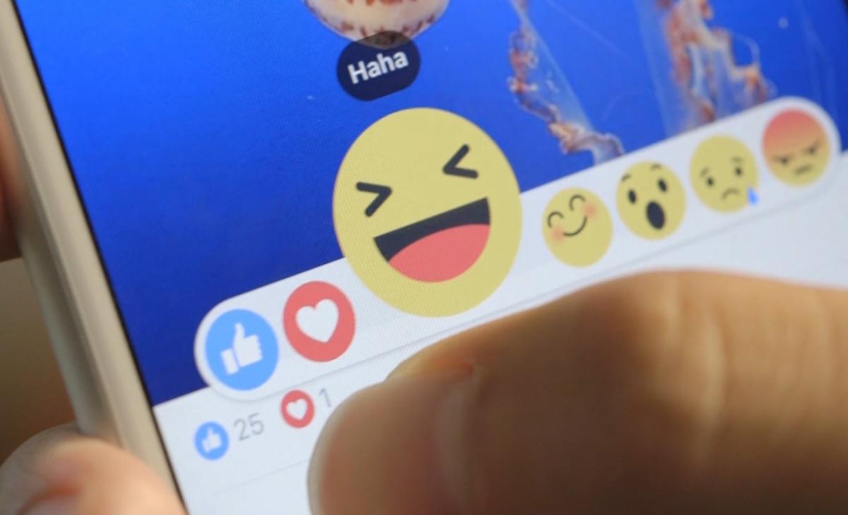 """Facebook anuncia """"Reactions"""", la opción al botón """"No me gusta"""""""