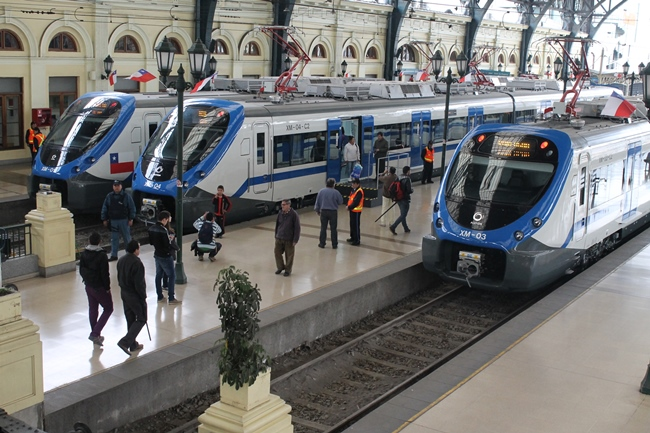 Tren Central anuncia suspensión del servicio entre Santiago y Chillán hasta el 4 de diciembre
