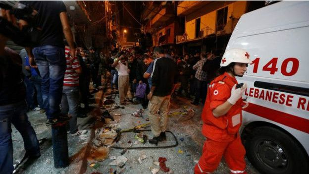 "Previo a los ataques en Francia, el EI,  usando ""kamikazes"" sembró la muerte en Beirut"