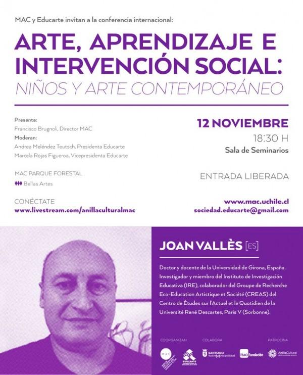 Flyer Joan Valles