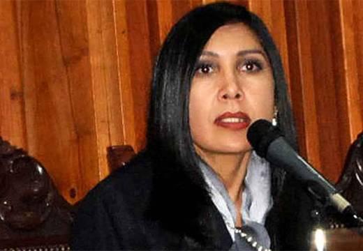 Gladys Gutiérrez, presidenta del Tribunal Supremo de Justicia de Venezuela