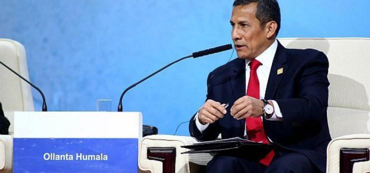 """Ollanta Humala el """"rey"""" del doble estándar: """"Con Chile no estamos peleados"""""""