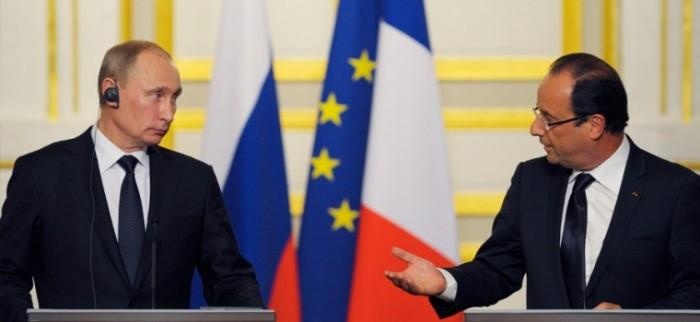 Rusia se une a Francia para atacar posiciones del EI