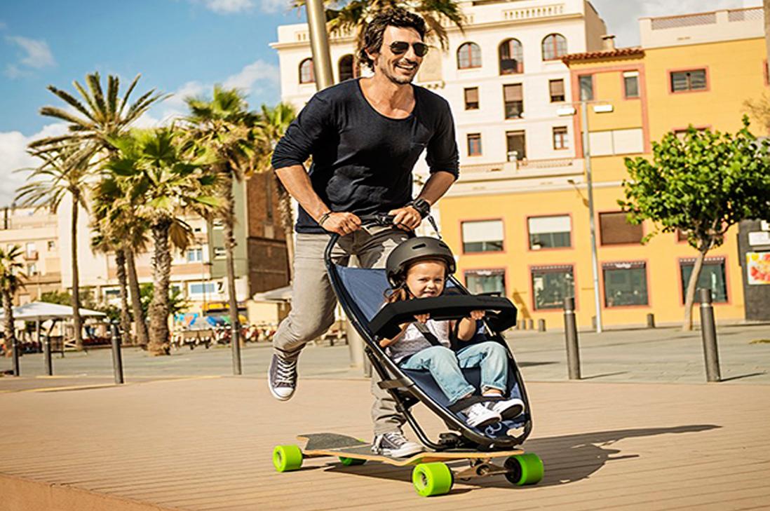 Coche/Skate, perfecta combinación para Papás modernos
