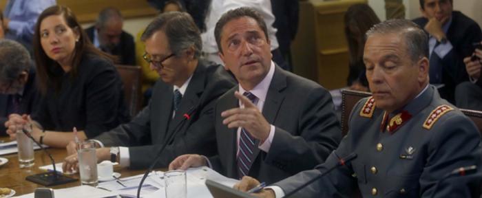 Ministro Gómez sale en defensa del Ejército y dice que toda la información ha sido entregada a los tribunales