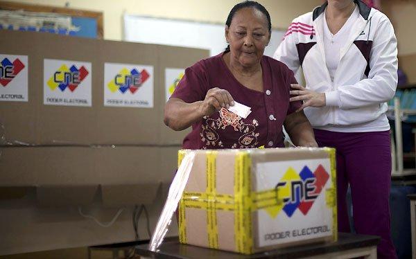 Comienzan las elecciones legislativas en Venezuela