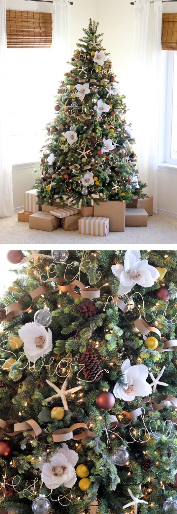 ideas-decoracion-arbol-navidad-flores-9