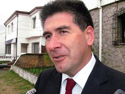 Alcalde de Ercilla, José Vilugrón.