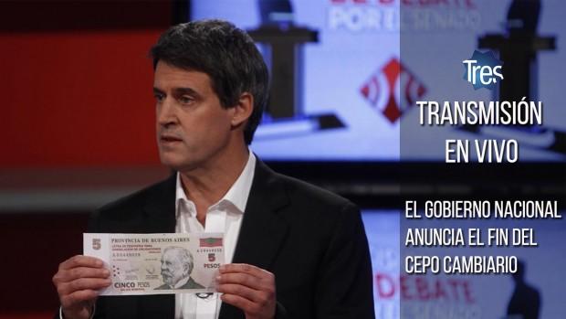 """Argentina elimina el """"cepo"""" al dólar y asoma la devaluación del peso"""