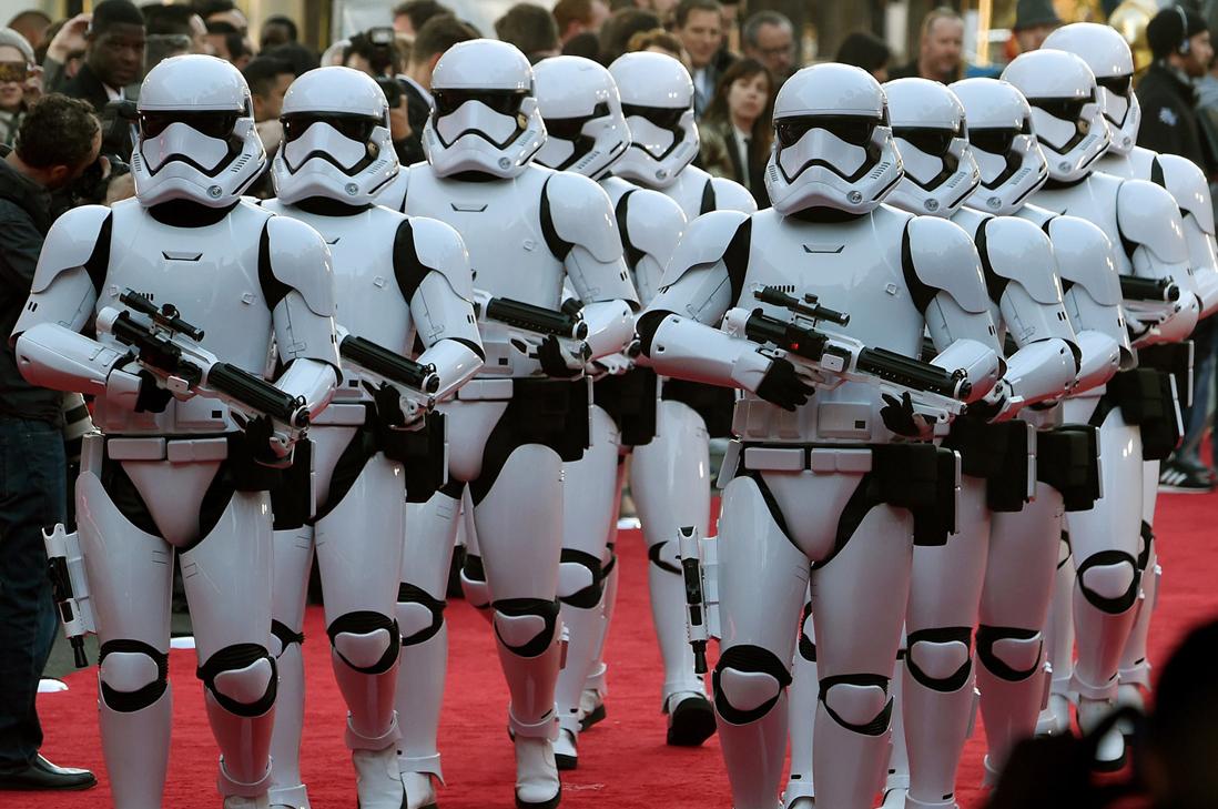 Gala de Star Wars aterrizó en Hollywood