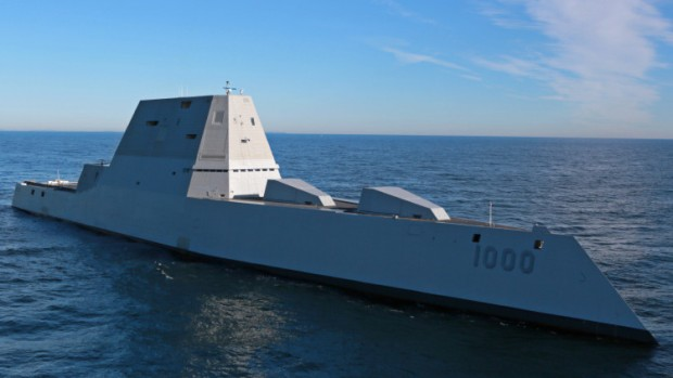"Marina de EE.UU. estrena gigantesco destructor: ""Zumwalt"""
