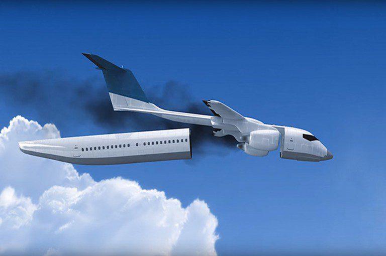 Ucraniano crea cabina de avión que podría salvar cientos de vidas