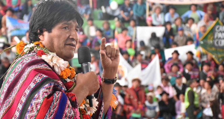 """El lloriqueo de Evo contra Chile: """"Porque soy indígena, por eso nos discrimina"""""""