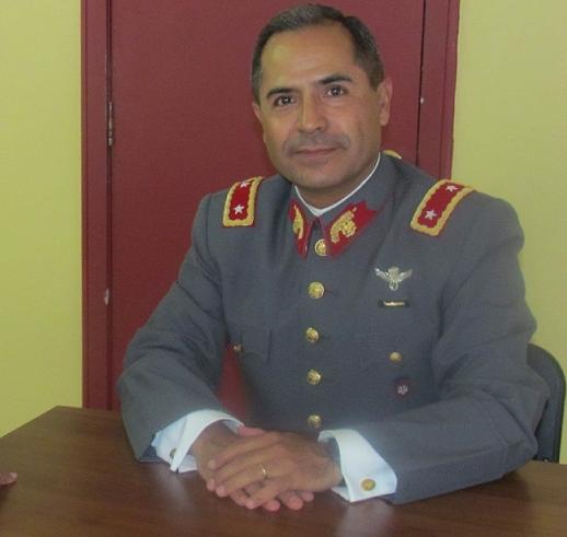 Contralor del Ejército, general Rodrigo Carrasco.