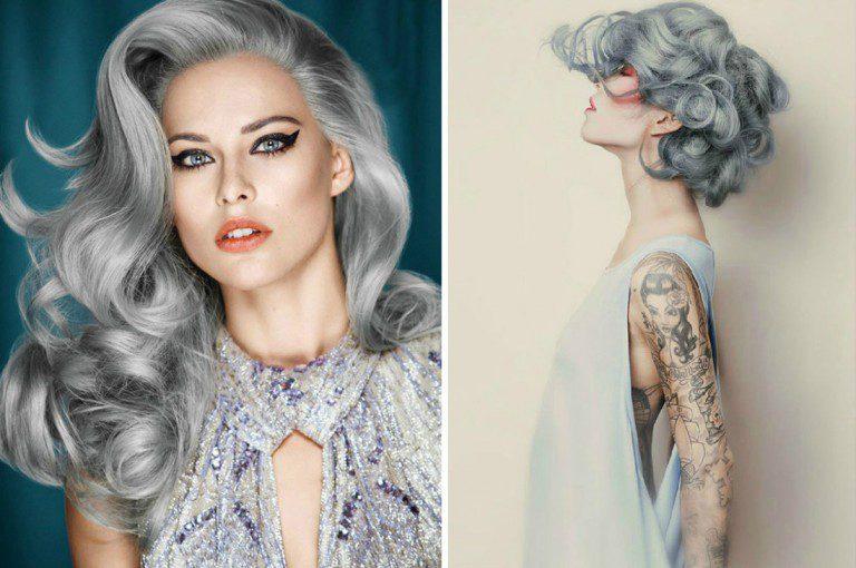 """""""Granny Hair"""", la nueva tendencia en belleza"""