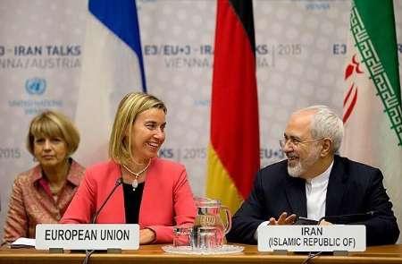 Viena: El ministro de Exteriores iraní, Mohammad Javad Zarif y la Jefa de Política Exterior de la Unión Europea, Federica Mogherini, examinaron os avances en la implementación final del acuerdo nuclear.
