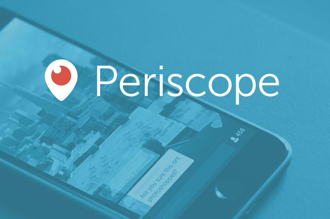 Periscope, una nueva aplicación para usar este 2016