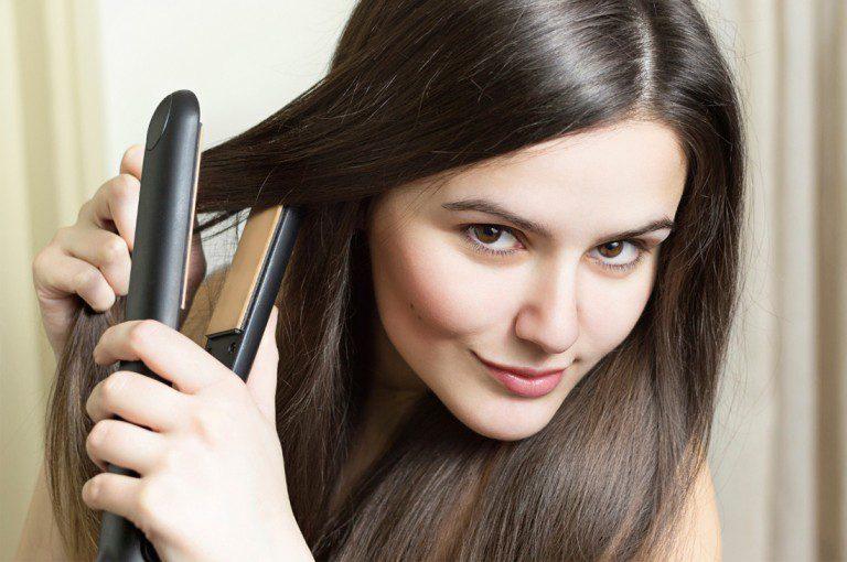 Si te planchas el pelo no cometas estos errores