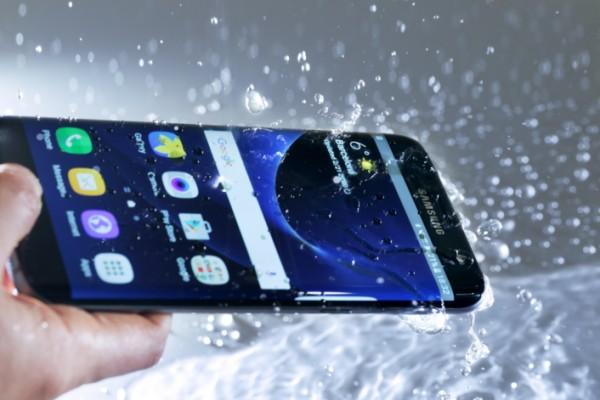 Galaxy S7 agua