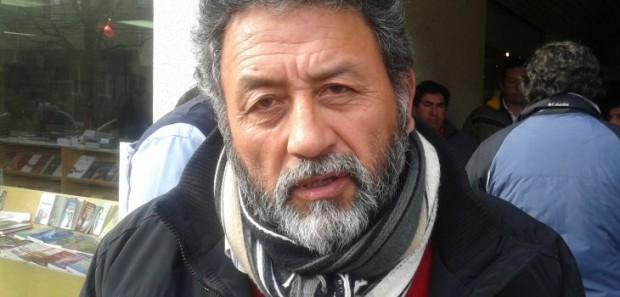 Hernán Machuca, dirigente de los pescadores artesanales.