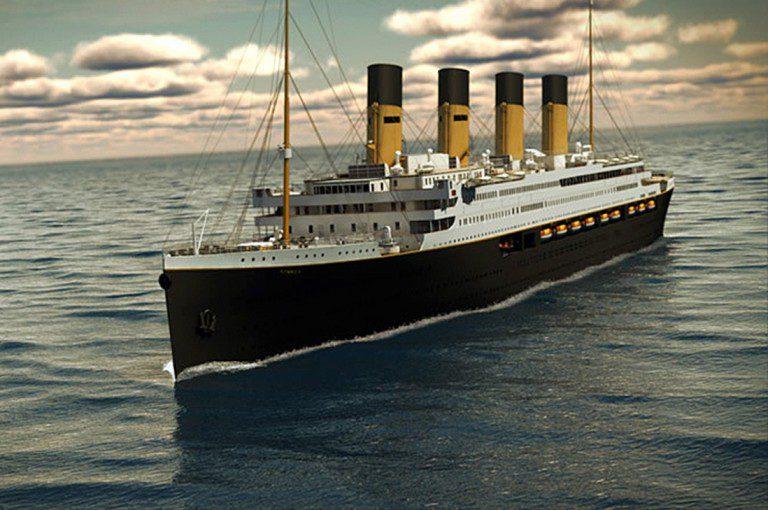 ¿Te gustaría embarcarte en una réplica del Titanic?